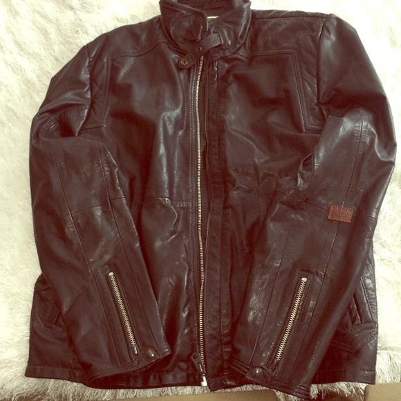 429ed006d345 G-Star Other - G-Star men black leather jacket